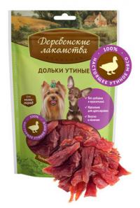Деревенские лакомства для собак мини-пород: дольки утиные