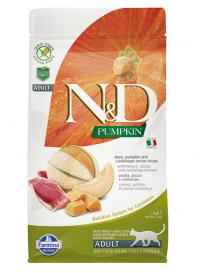 N&D Cat GF Pumpkin Duck