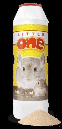 Песок для купания шиншилл и других декоративных животных Little One