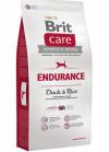 Brit Care Endurance Корм для Активных Собак Всех Пород с Уткой и Рисом