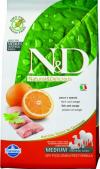 N&D Fish & Orange Adult Рыба/Апельсин для собак мелких пород