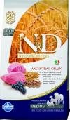 N&D Low Grain Lamb & Blueberry для собак мелких пород