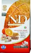 N&D Low Grain Codfish & Orange для крупных пород