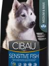 Cibau Sensitive Fish Medium & Maxi (рыба)