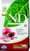 N&D Cat Chicken & Pomegranate кастрированные/ стерилизованные (10 кг.)