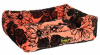 "Pride лежанка ""Флора"", цвет: коралловый (52х41х10 см)"