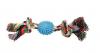 Triol 0057XJ Игрушка для собак, веревка, 2 узла и мяч