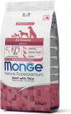 Monge Dog Monoprotein All Breeds Beef and Rice (говядина с рисом)