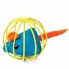 """Triol Игрушка для кошек """"Мышка в шаре"""", d63мм"""
