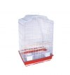 Клетка для птиц 47,5*36*68см Триол 6005(металл пластик раст.между прутьями 17,3мм)